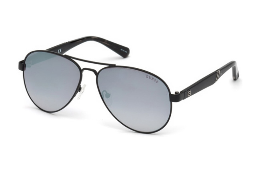 Guess GU 6930 Sunglasses in 05C - Black/Other / Smoke Mirror